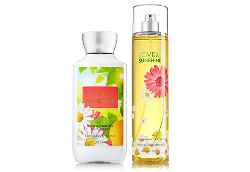 3c122ae2b8f Love Sunshine (Bath & Body Works) 2pc Gift Set – ARz Store
